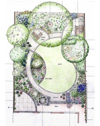 Flower Garden Design Pictures And Layout PDF