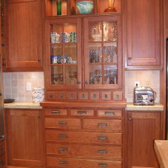 Built In Kitchen Cabinets Glass Top Table China Cabinet Craftsman House Pinterest