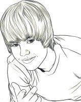 Desenhos para colorir Justin Bieber   Educação Online