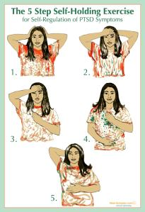 The 5 Step Self-holding Exercise for Self-Regulation of PTSD Symptoms