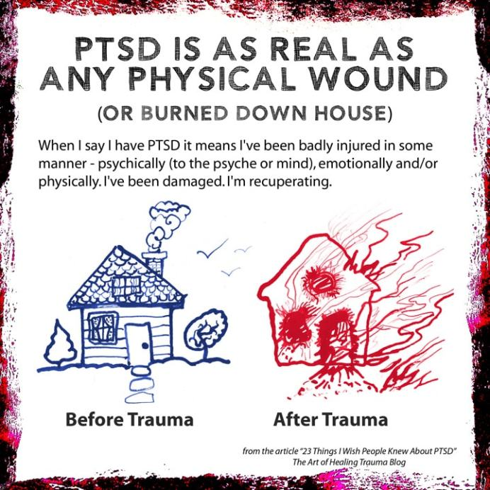 PTSD Is As Real As Any Physical Wound
