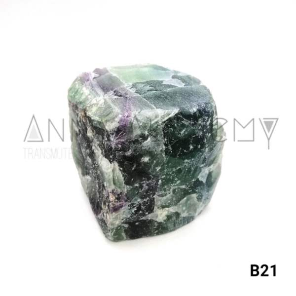 萤石原矿 Green Fluorite Quartz Rough Stone 2