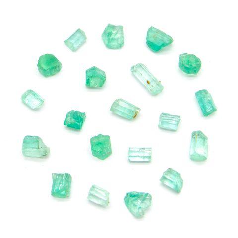 超光速粒子祖母绿原矿 0.5 - 1 ct(单颗) 1