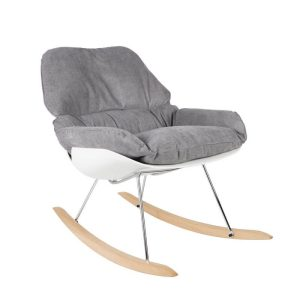 荷蘭進口家具ZUIVER UNCLE LOUNGE CHAIR ROCKY LIGHT搖椅