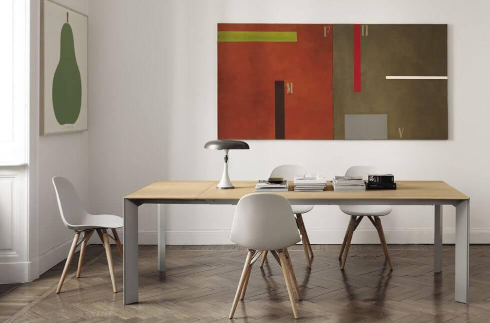 北歐風格家具推薦-BONTEMPI-CASA-GENIO餐桌