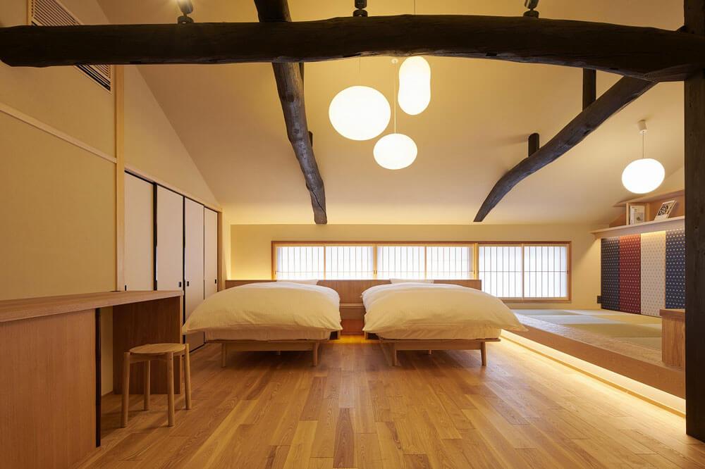京之溫泉 麩屋町二条 日式裝潢客房