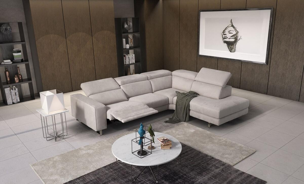 義大利進口家具 L型沙發品牌 POLO DIVANI