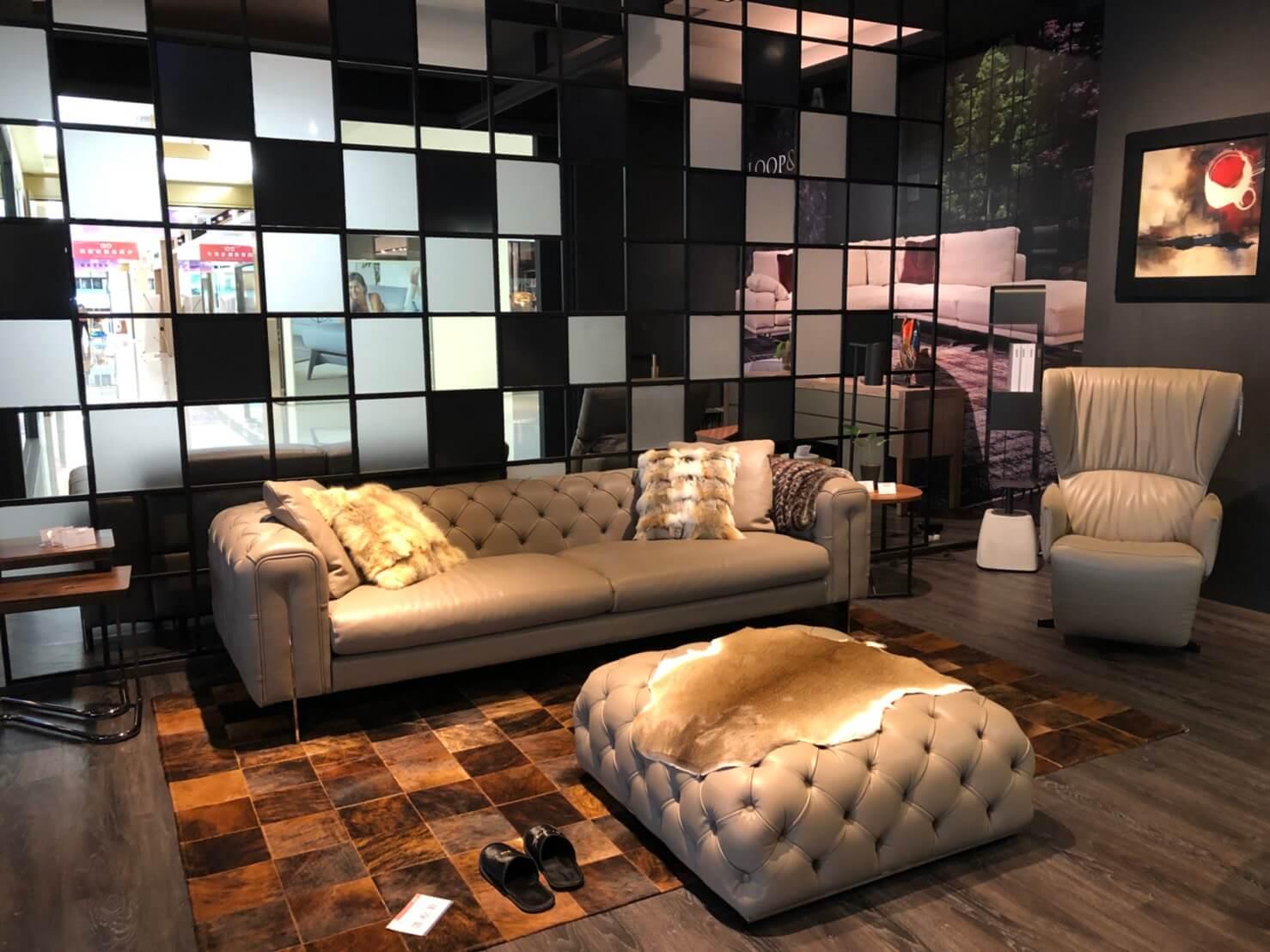 義大利進口家具 設計沙發推薦 POLO DIVANI