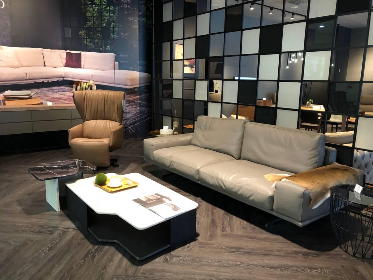 義大利進口家具 一字型沙發推薦 POLO DIVANI