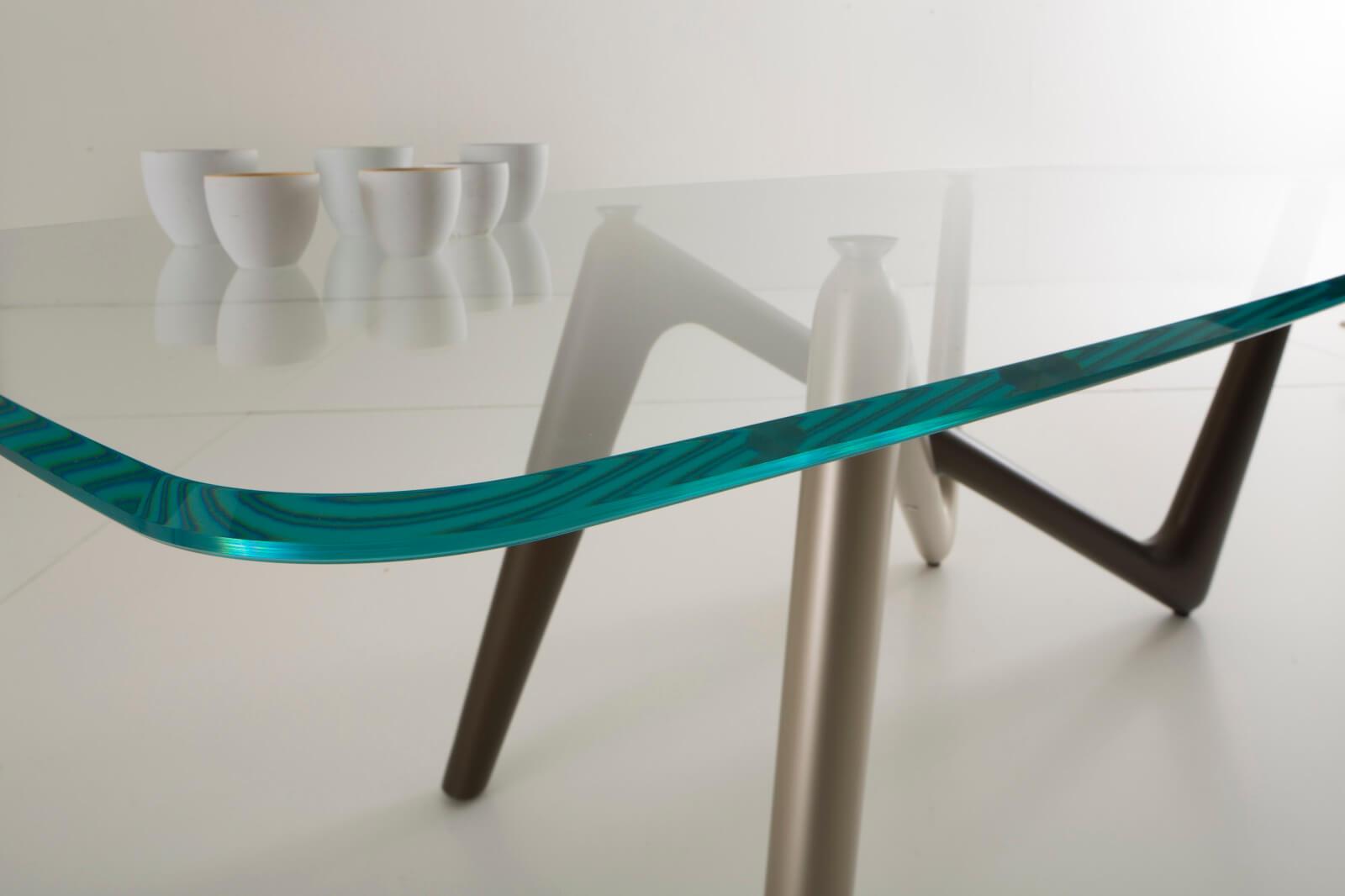 COMPAR 義大利玻璃桌