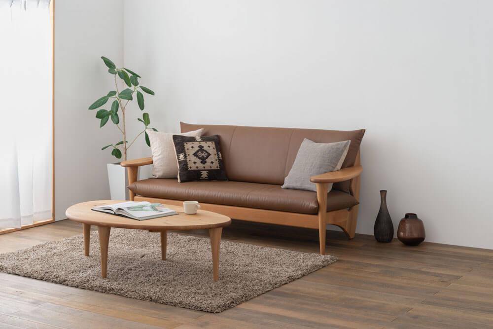 日本進口傢俱品牌 HIDA飛驒產業株式會社 實木沙發推薦