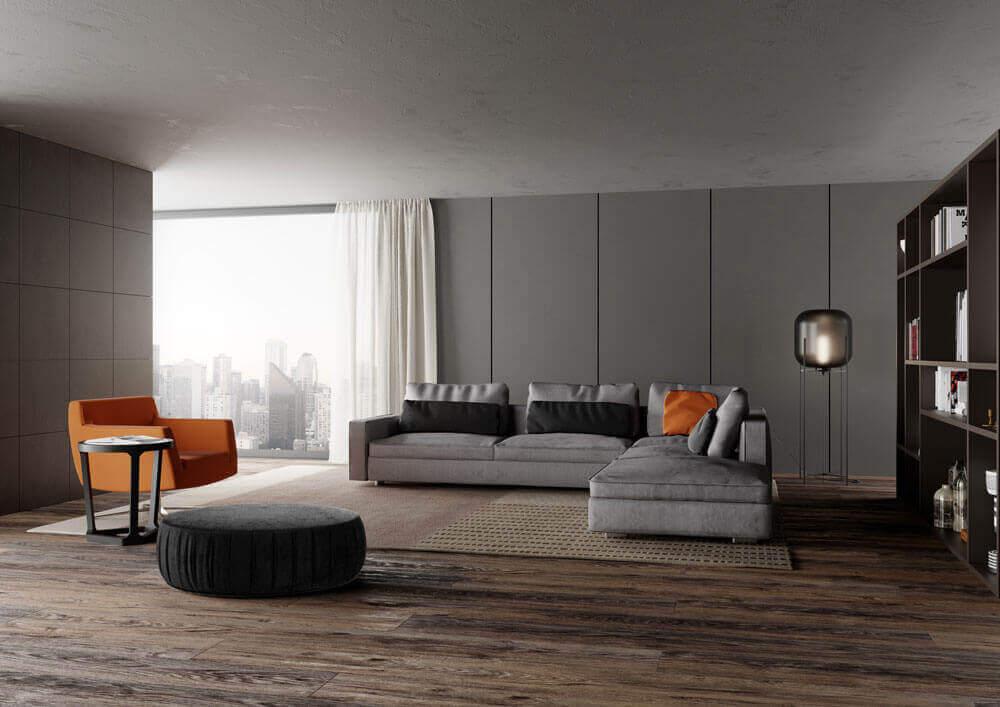 Molinari Living 客廳沙發家具 佈置