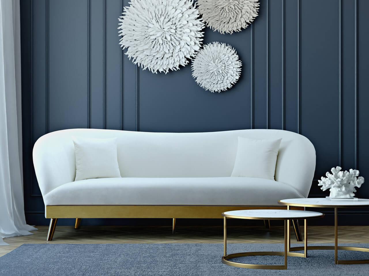 TOV Furniture - Chloe天鵝絨沙發 Chloe Velvet Sofa