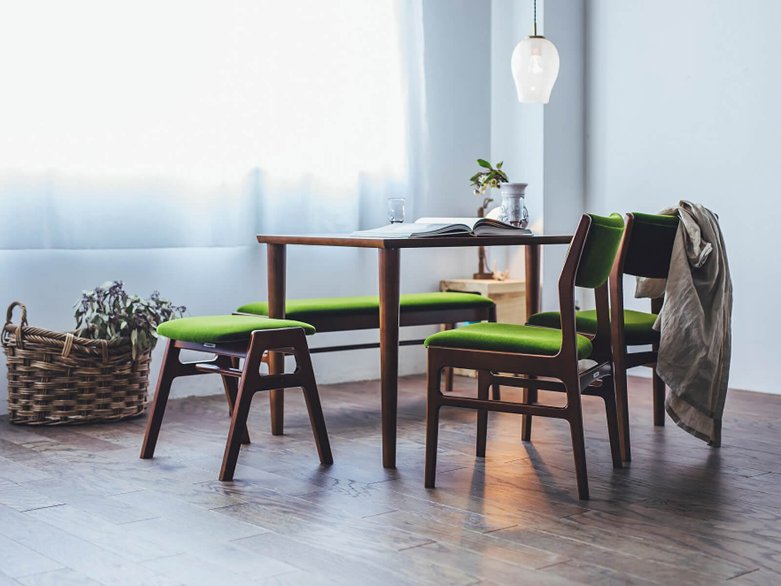 karimoku日本家具品牌 餐廳桌椅