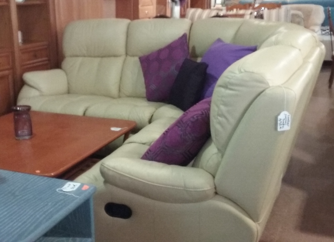 leather corner sofa spain crate and barrell sofas new2you furniture second hand beds for the