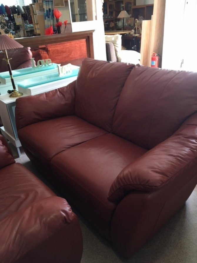 secondhand leather sofas l shaped recliner sofa india new2you furniture | second hand sofas/sofa beds for the ...