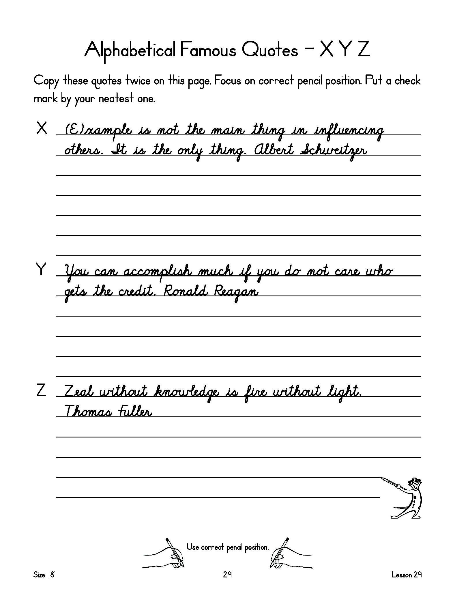 New American Cursive Workbook 3