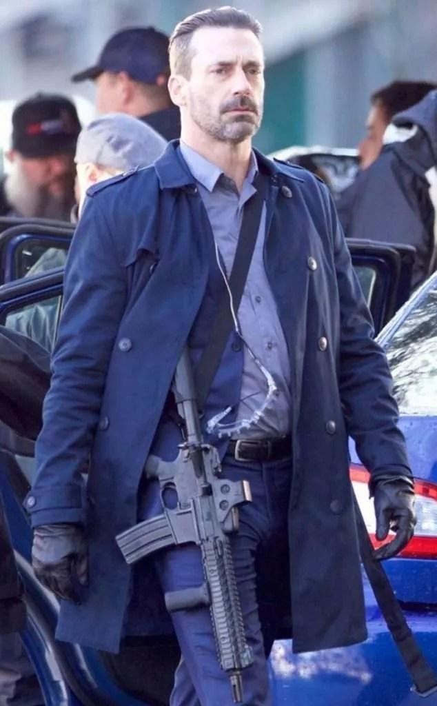 Baby Driver Movie Jon Hamm Coat Buddy Coat New