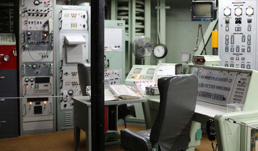 View of command center at the Titan Missile Museum