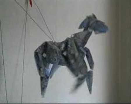 Paper horse By Jim Watt