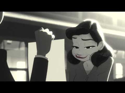 Paperman by Walt Disney Animation Studios