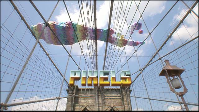 PIXELS – The short film by Patrick Jean