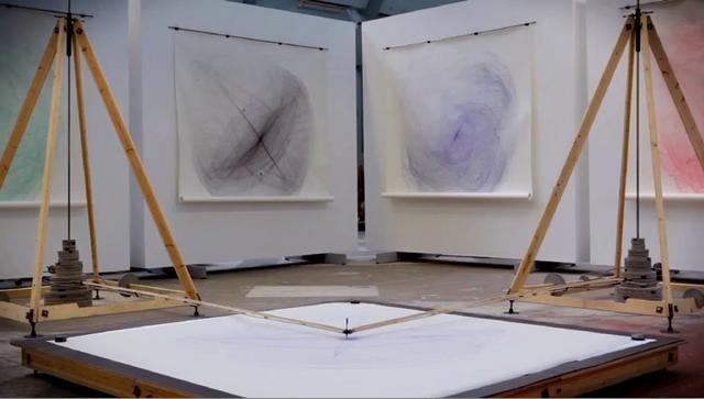 Drawingmachine by Eske Rex