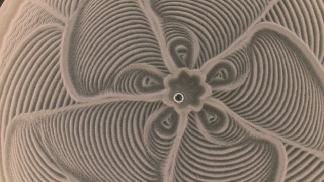 Kinetic Art Table by Sisyphus