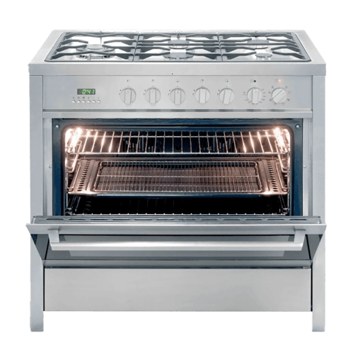 small resolution of kelvinator gas electric stove s steel model kc9650tle