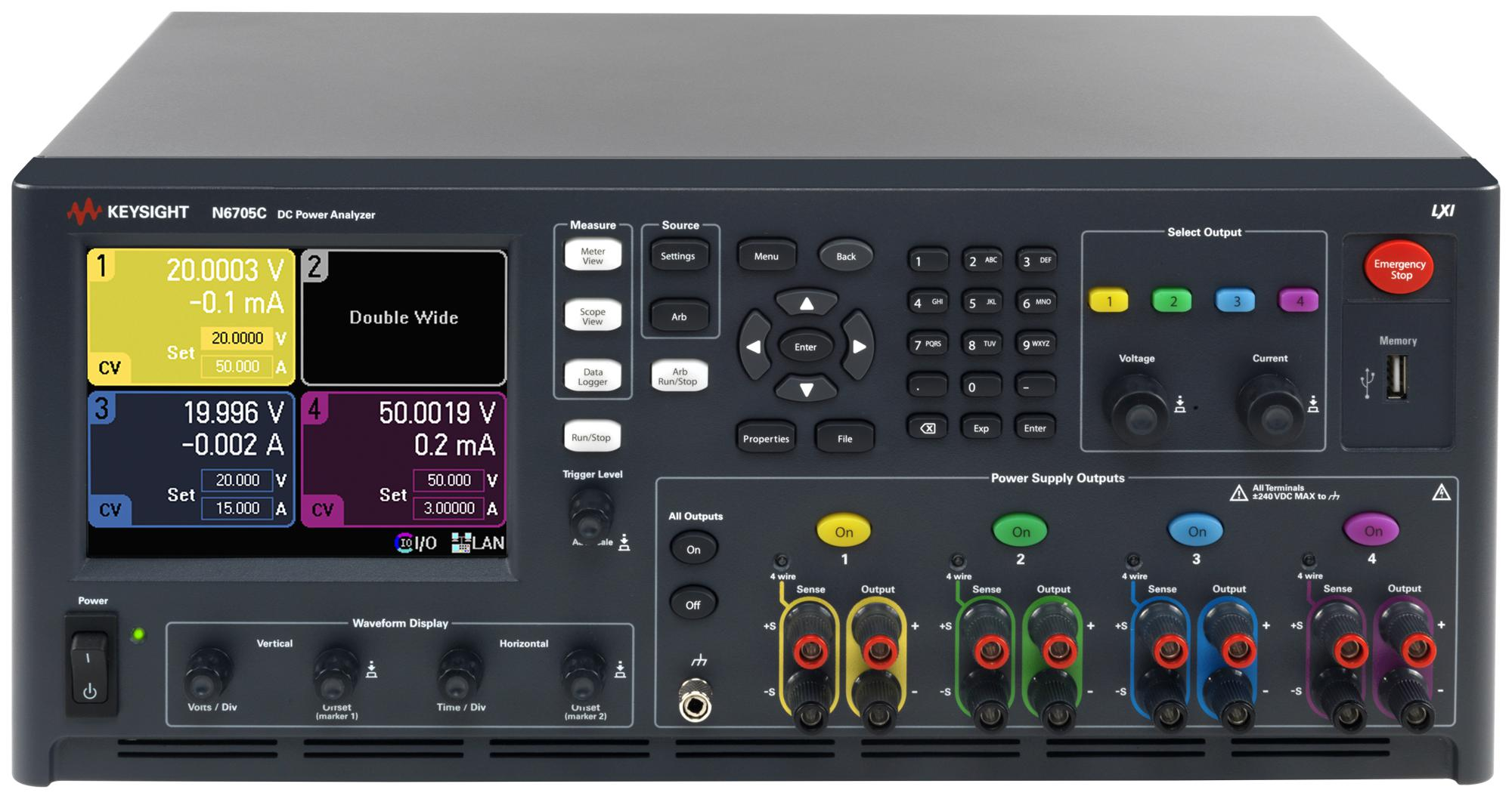 N6705c Keysight Technologies Bench Power Supply