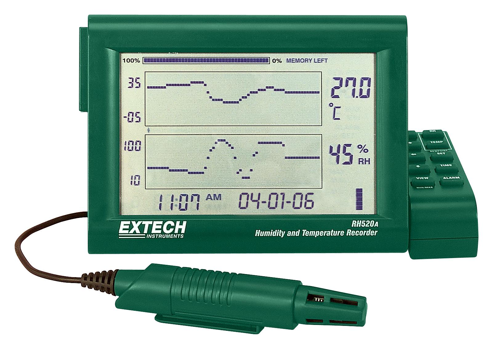 hight resolution of rh520a extech instruments recorder humidity and temperature chart 3
