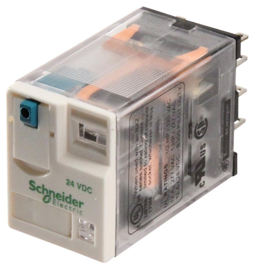 24 Volt Coil Wiring Diagram Rxm2ab2bd Schneider Electric Power Relay Dpdt 24 Vdc
