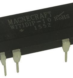 w171dip 10 reed relay  [ 2000 x 1475 Pixel ]