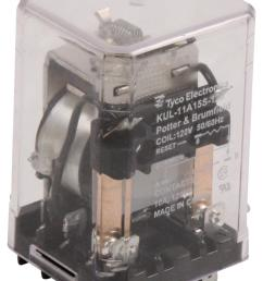 kul 11a15s 120 potter brumfield te connectivity power relay dpdt 120 vac [ 1386 x 2000 Pixel ]