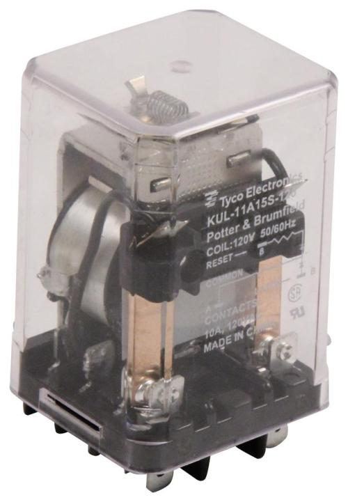 small resolution of kul 11a15s 120 potter brumfield te connectivity power relay dpdt 120 vac