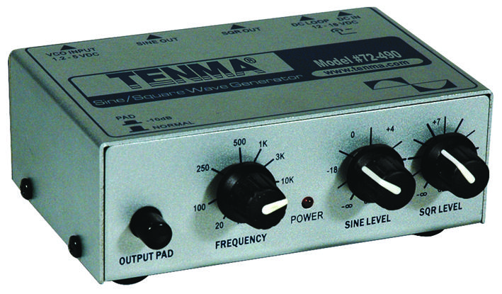 Audio Frequency Signal Generator Schematic