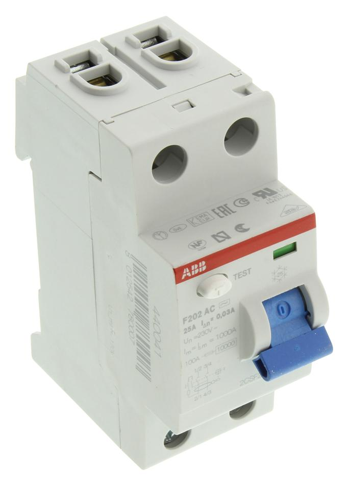 hight resolution of f202ac 25 0 03 abb thermal magnetic circuit breaker residual current f200 series