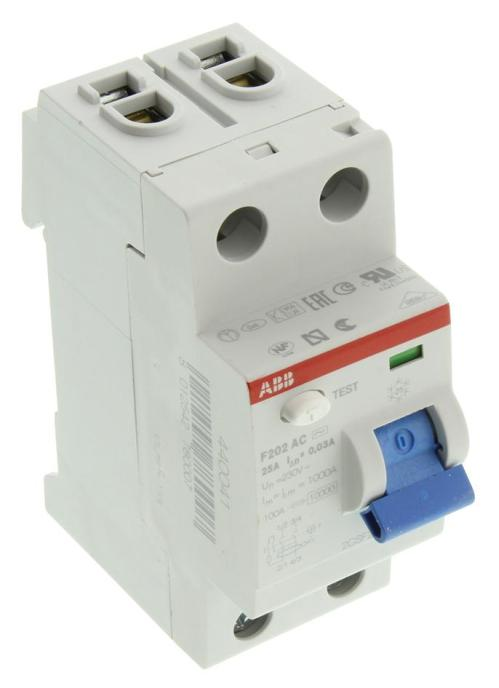 small resolution of f202ac 25 0 03 abb thermal magnetic circuit breaker residual current f200 series