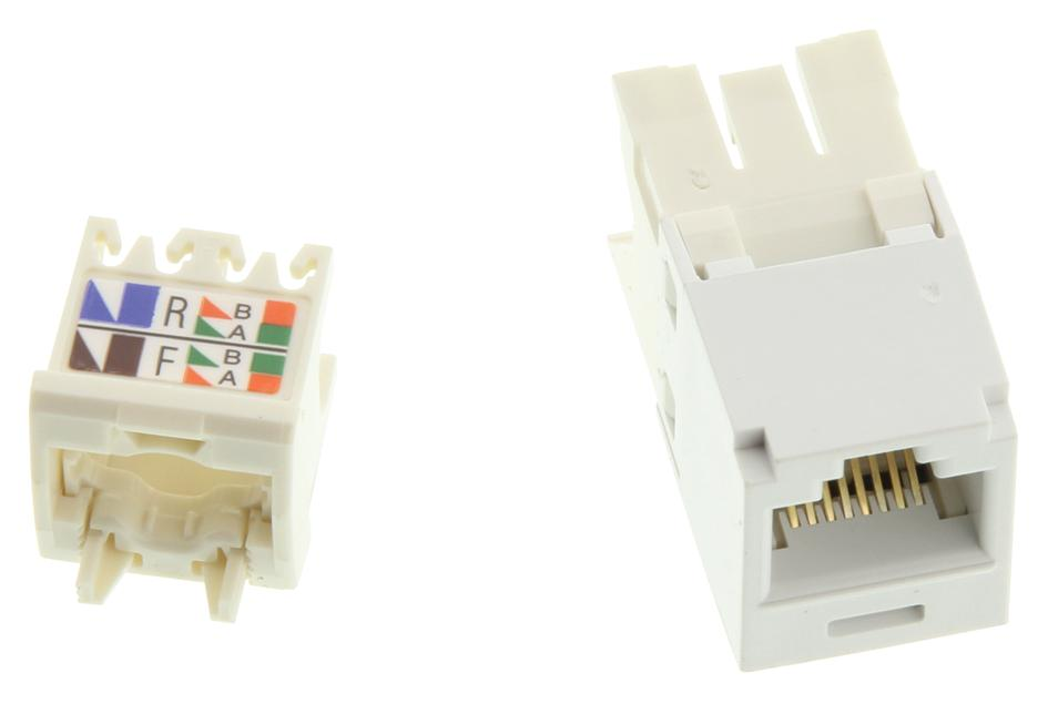 hight resolution of cj688tgwh modular connector rj45 wired