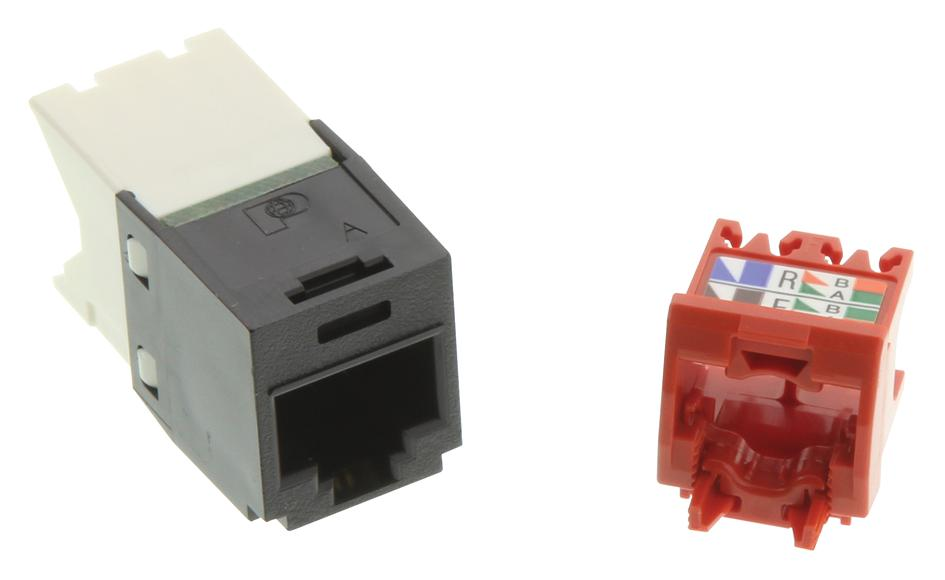 hight resolution of cj5e88tgbl modular connector rj45 wired