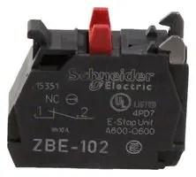 ZBE102  SCHNEIDER ELECTRIC  Contact Block 10 A 600 V