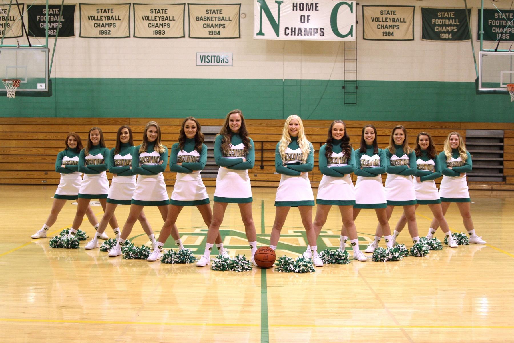 Basketball Cheer  Newark Catholic High School