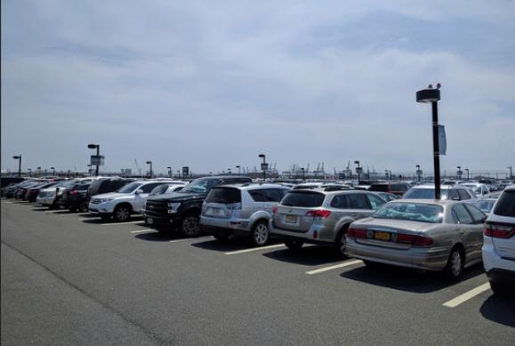 Newark Airport parking lots