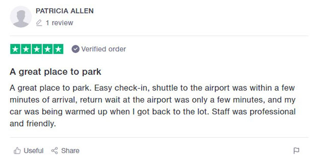 Newark Airport Parking Review