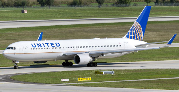 United Airlines at Newark Airport
