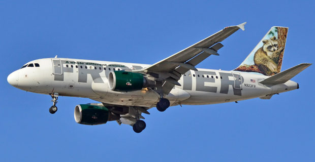 Frontier Airlines at Newark