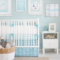 Nautical Baby Bedding | Nautical Nursery Inspiration