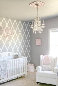 Pink and Gray Crib Bedding Sets