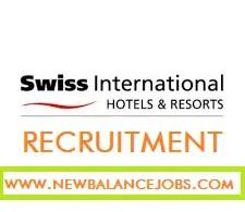 Swiss International D'Palms Airport Hotels recruitment and job Vacancies