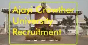 Ajayi-Crowther-University-recruitment